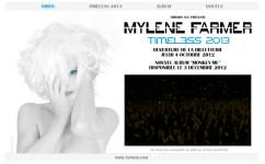 Mylène Farmer Timeless 2013 Clé USB Promo