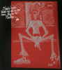 Dessin Mylène Farmer Programme Tour 1996