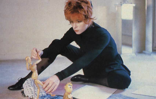 Mylène Farmer Photo : Elsa Trillat 1987