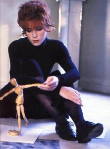 Mylène Farmer 1987 Photographe Elsa Trillat