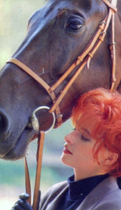 Mylène Farmer 1987 Photo : Elsa Trillat