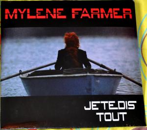 Mylène Farmer Je te dis tout Maxi 45 Tours