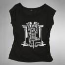 Mylène Farmer Monkey Me Merchandising Tee Shirt Logo Femme