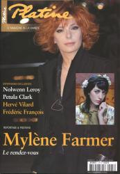Mylène Farmer Presse Platine Février 2011