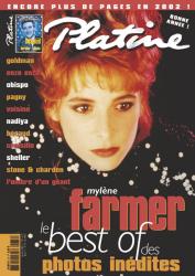 Mylène Farmer Presse Platine Janvier 2002