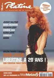 Mylène Farmer Presse Platine Janvier 2006