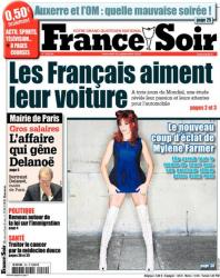 Mylène Farmer Presse France Soir 29 septembre 2010