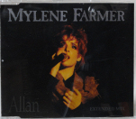 Mylène Farmer Allan Live CD Maxi France