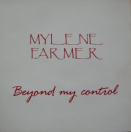 Beyond my control - CD Promo Luxe France