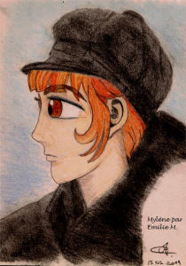 Création de fan Mylène Farmer par Gemini No Saga