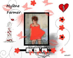 Fond d'écran Mylène Farmer par MFHPT