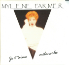 Single Je t'aime mélancolie (1991) - CD Promo