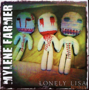 Mylène Farmer Lonely Lisa CD Promo Remixes France N°1