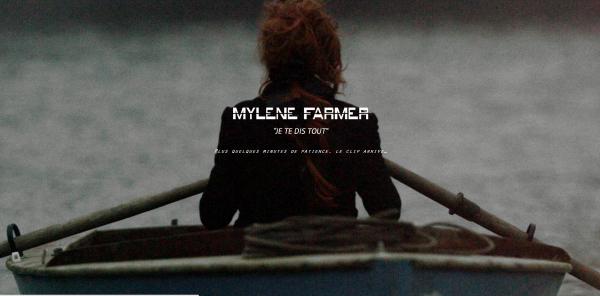 Mylène Farmer site officiel jetedistout.com