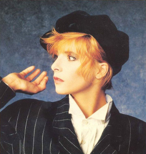 Mylène Farmer Photo Elsa Trillat 1987