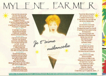 Mylène Farmer Presse Smash Hits