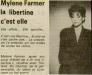 Mylène Farmer Loire Matin 23 Mars 1987