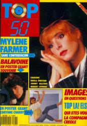 Mylène Farmer Presse Top 50 18 janvier 1988