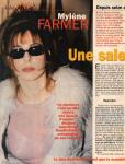 Mylène Farmer Presse Ici Paris 27 mars 2001