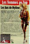 Mylène Farmer Presse Le Matin 01 décembre 2001