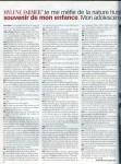 Mylène Farmer Presse Paris Match 06 décembre 2001