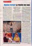 Mylène Farmer Presse Télé 7 Jours 21 avril 2001