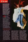 Mylène Farmer Presse Télé Poche Programmes du 15 au 21 septembre 2001
