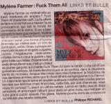 Mylène Farmer Presse Ouest France Février 2005