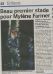 Mylène Farmer Presse 20 minutes 07 septembre 2009