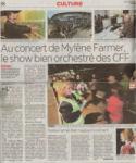 Mylène Farmer Presse 24 heures 07 septembre 2009