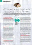 Mylène Farmer Presse Fémina Suisse 30 août 2009