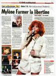 Mylène Farmer Presse France Soir 22 juillet 2009