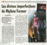 Mylène Farmer France Soir 07 décembre 20009