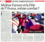 Mylène Farmer Presse L'Humanité 17 septembre 2009