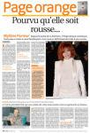 Mylène Farmer Presse La coôte 06 août 2009