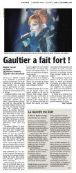 Mylène Farmer Presse La Dernière Heure 21 septembre 2009