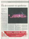 Mylène Farmer Presse La Libre Belgique 21 septembre 2009