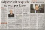 Mylène Farmer Presse La Tribune de Genève 31 août 2009