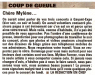 Mylène Farmer Presse La Voix du Nord 20 juin 2009