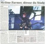 Mylène Farmer Presse Le Journal du Dimanche 12 septembre 2009