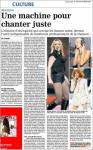 Mylène Farmer Presse La Voix du Nord 08 février 2009