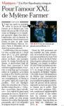 Mylène Farmer Presse Le Soir 21 septembre 2009