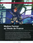 Mylène Farmer Presse Sono Mag Novembre 2009
