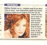 Mylène Farmer Presse Télé Moustique