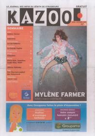 Mylène Farmer Presse Kazoo Avril Octobre 2009