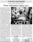 Mylène Farmer Presse Liberté 16 et 17 janvier 2009