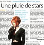 Mylène Farmer Presse Metro Nice 16 janvier 2009