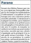 Mylène Farmer Presse Nice Matin 21 janvier 2009