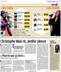 Mylène Farmer Presse Le Parisien Aujourd'hui en France 20 janvier 2011