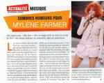 Mylène Farmer Presse Télé Magazine 10 janvier 2011